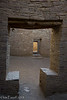 Keyhole doorway.  Chaco Canyon.