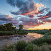Sunset along the Rio Chama