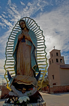 Built in 1781, just west of the Santa Fe Plaza, the historic El Santuario de Guadalupe church is now an art and history museum.