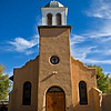 "Church in Los Cerrillos, New Mexico, the church of "" Iciesia San Jose"""