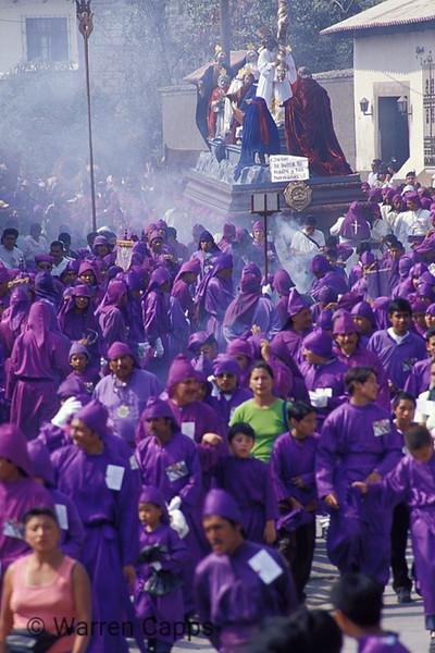 Lenten Procession in Antigua