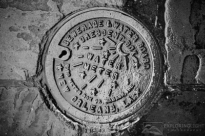 """CRESCENT CITY WATER METER""New Orleans, Louisiana.© Chris Moore - Exploring Light PhotographyPURCHASE A PRINT"