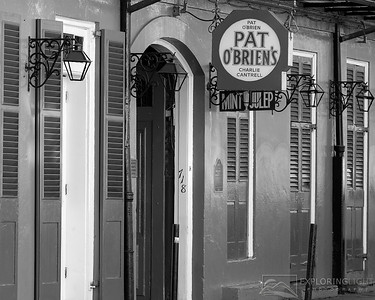 """PAT O'BRIENS II BW""New Orleans, Louisiana.© Chris Moore - Exploring Light PhotographyPURCHASE A PRINT"