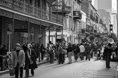 """CROWDS OF BOURBON STREET""New Orleans, Louisiana.© Chris Moore - Exploring Light PhotographyPURCHASE A PRINT"