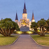 """ST. LOUIS CATHEDRAL 12""New Orleans, Louisiana.Print sizes available: 8""x10"", 11""x14"", 16""x20"", 24""x30"", 30""x40"""