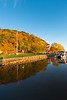 Fall colors along the Mississippi River in McGregor, Iowa<br /> <br /> October 16, 2017