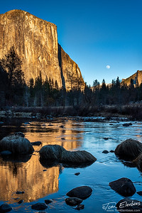 Valley Moonrise I