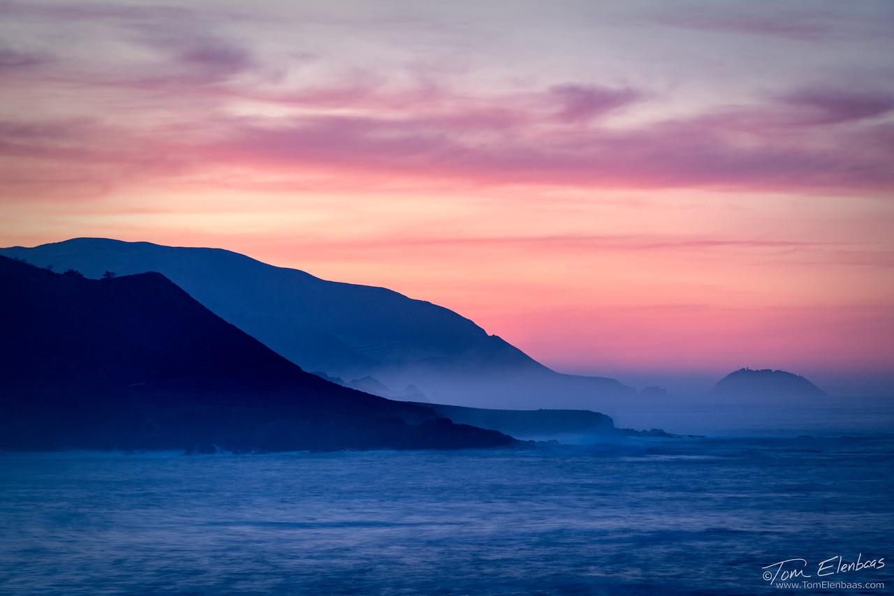 Soberanes Point Dawn I, Big Sur