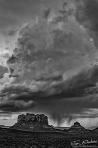 Thunderhead over Cathedral Rock