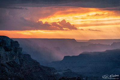 Yavapai Point Sunset V