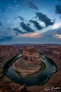 Horseshoe Bend Sunset I