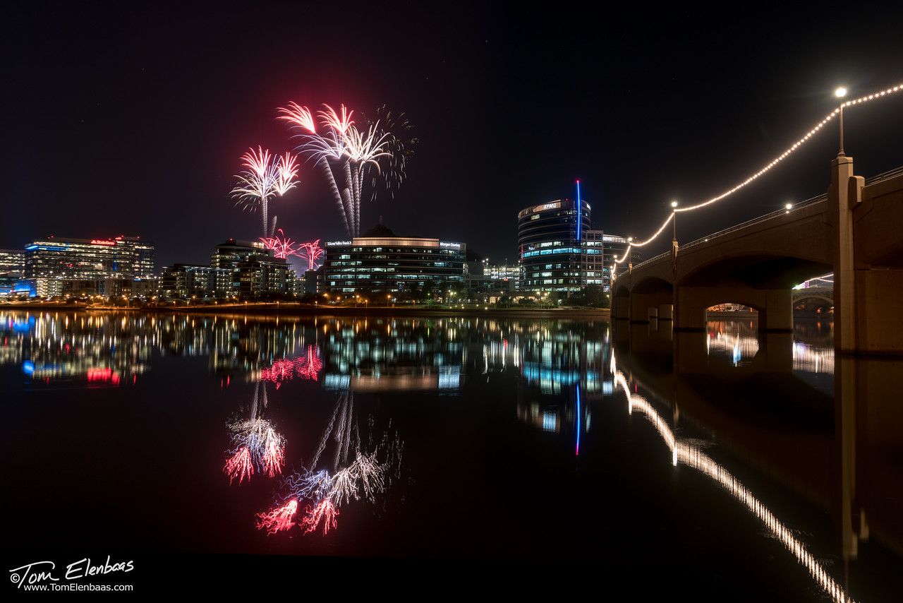 Tempe Town Fireworks
