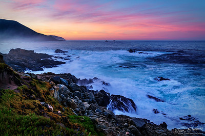 Soberanes Point Dawn II, Big Sur