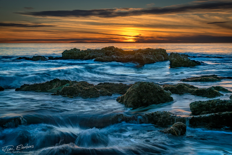 Little Corona del Mar Sunset