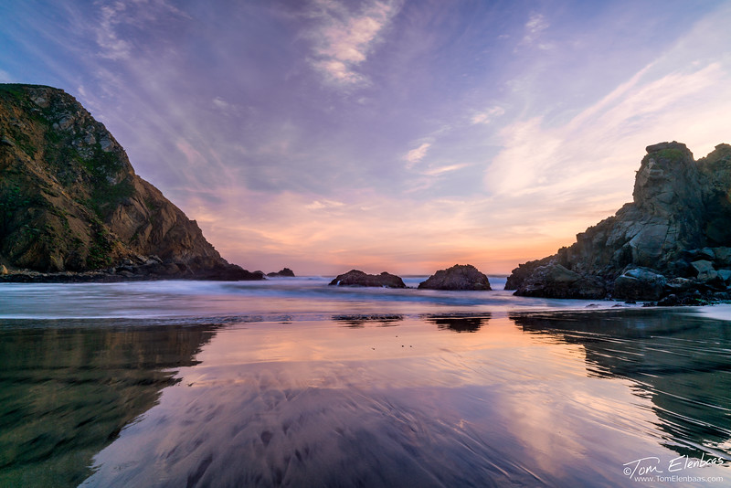 Pfeiffer Beach Sunset, Big Sur