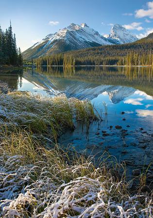 Mud Lake Morning - Kananaskis, Alberta
