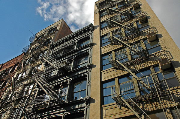 Fire Escapes, New York City