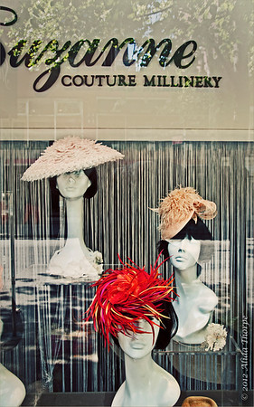 Couture Millinery, New York City Hat Shop