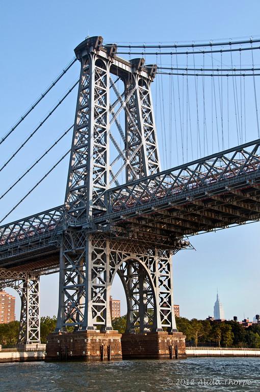 Williamsburg Bridge in New York City