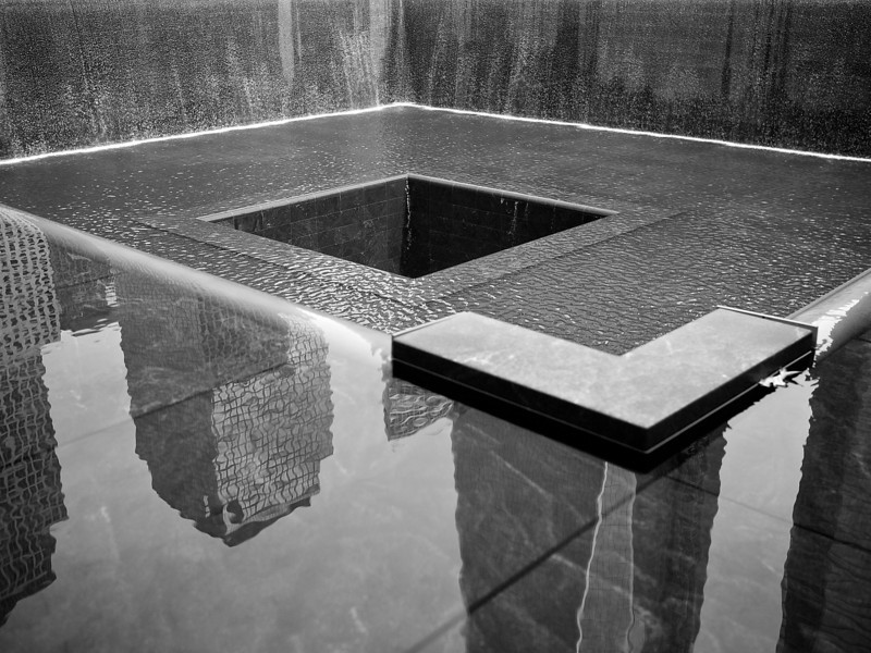 9/11 Memorial, Tower 1 - New York, New York
