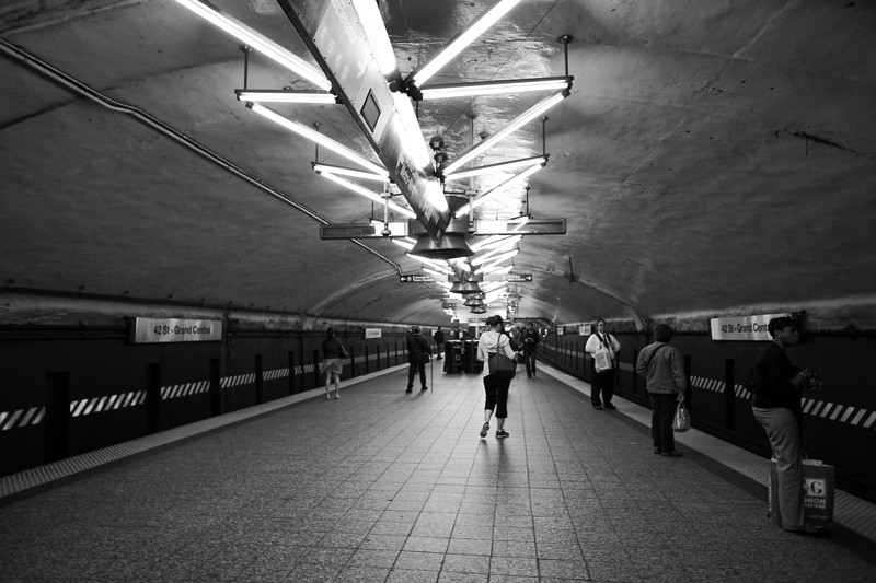42nd Street Subway Station - New York, New York