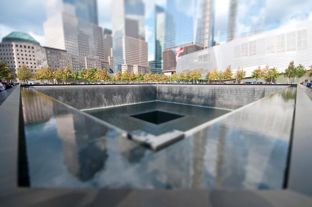 World Trade Center Site Waterfalls (1) - Manhattan, NY