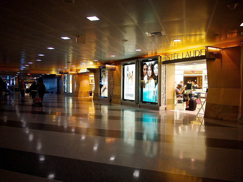 Estee Lauder Glow, JFK Airport - Queens, New York