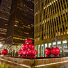 Giant Ornaments, Avenue of the Americas - New York, New York