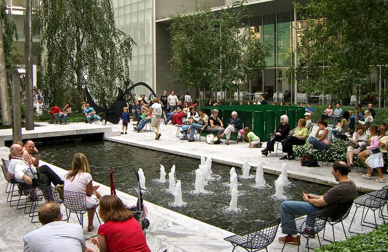 Museum of Modern Art Sculpture Garden: