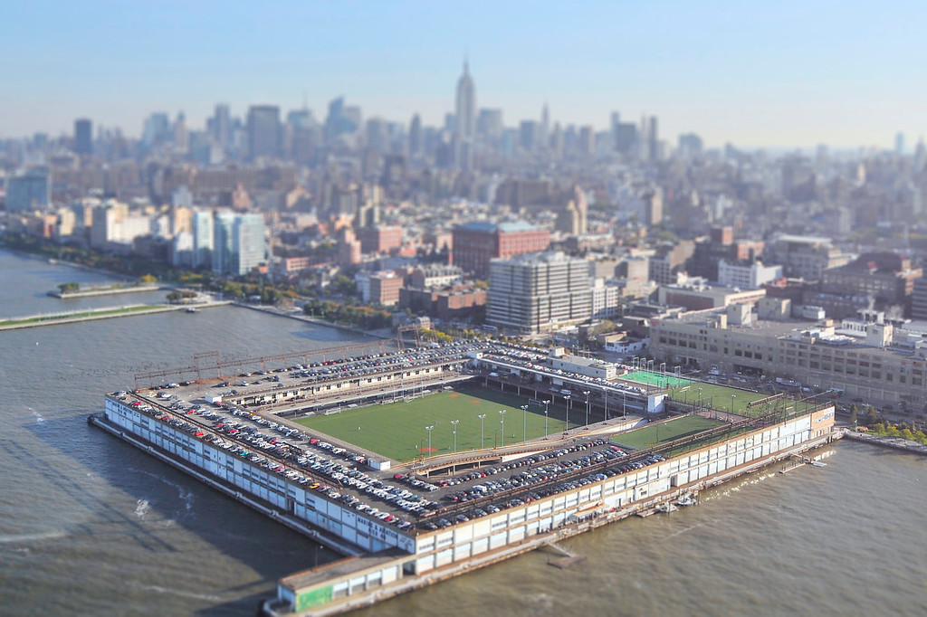 Pier 40 Soccer Field (Helicopter)  - Manhattan, NY