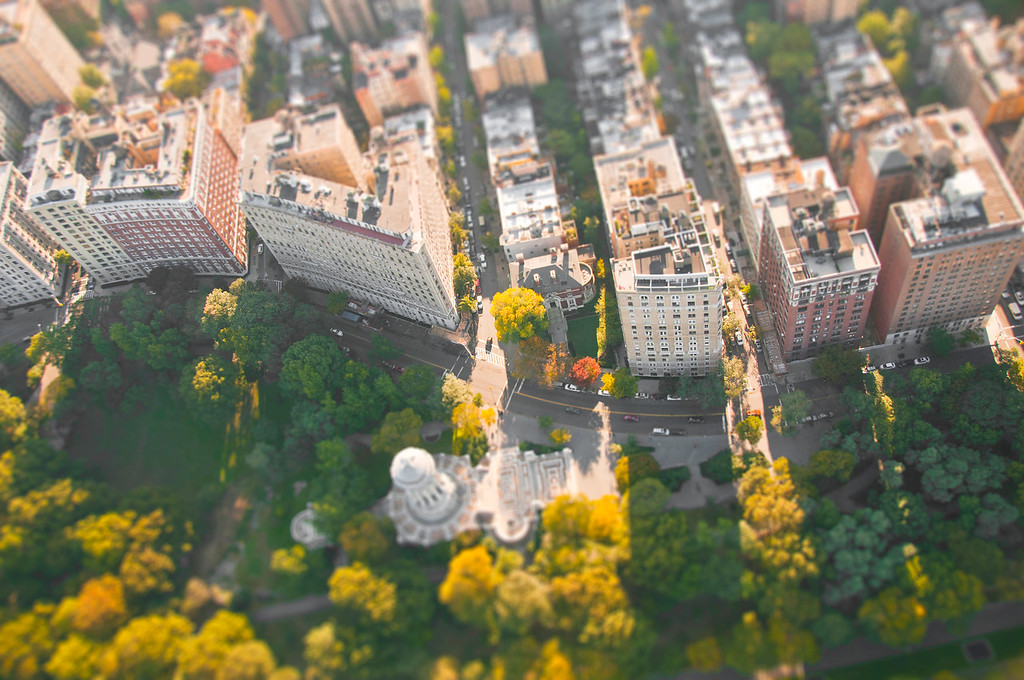 Upper West Side (Helicopter) - Manhattan, NY