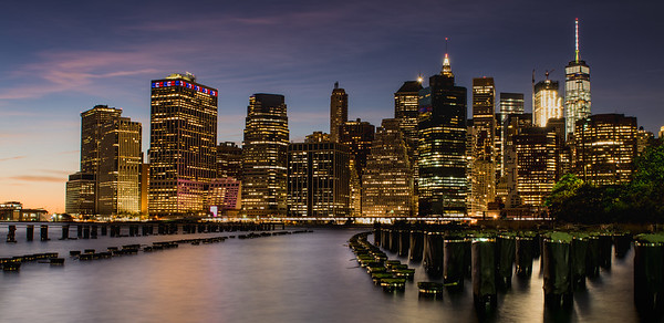 New York Skyline 2016