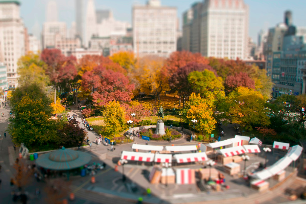 Union Square Park (Christmas Time) - Manhattan, NY
