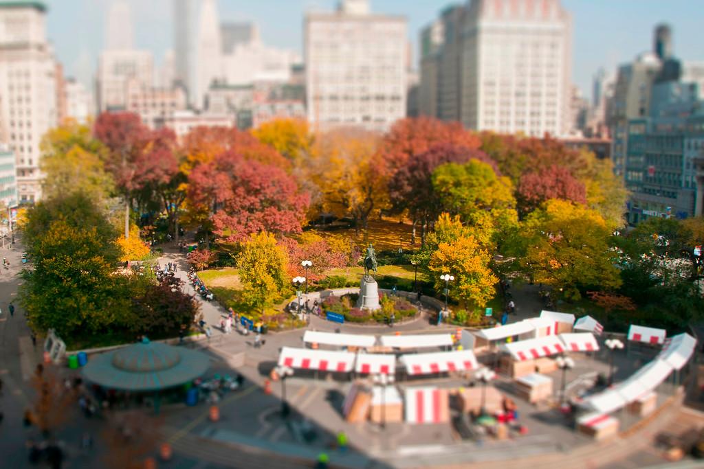 Union Square Park (Christmas Time) - Manhattan, NY