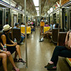 Subway Interior - New York, New York