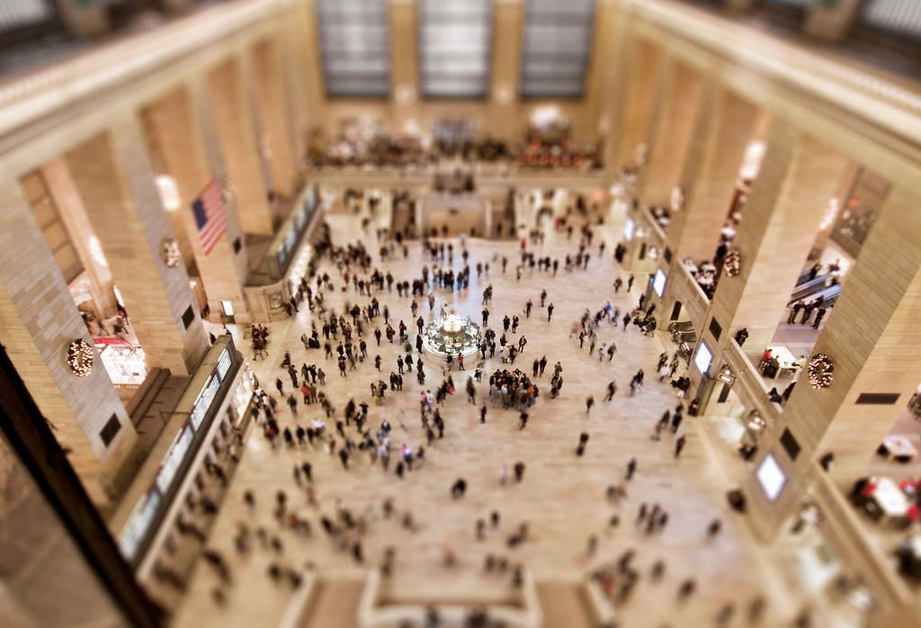 Grand Central Catwalk - Manhattan, NY
