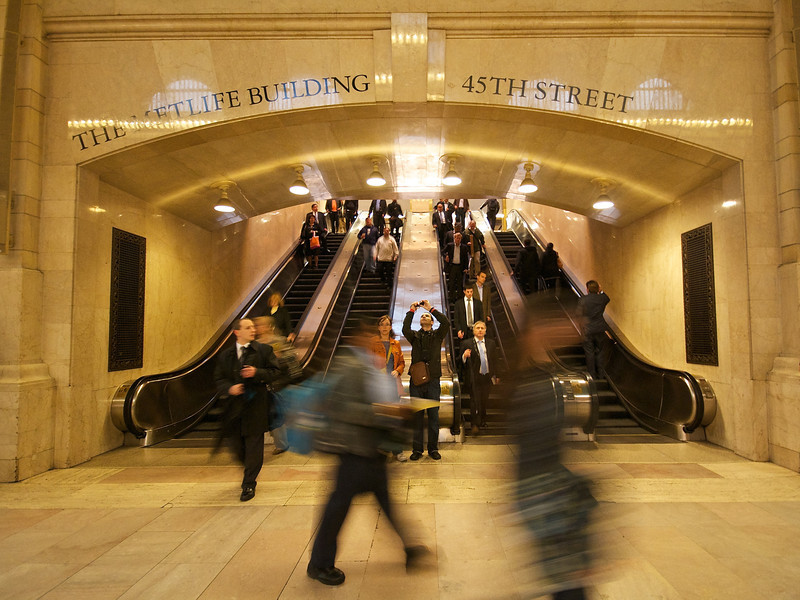 Hustle and Bustle, Grand Central Station - New York, New York