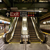 Exit, Times Square Station - New York, New York