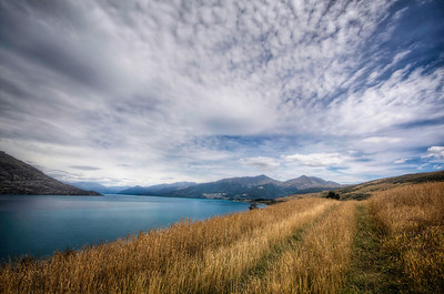 On Jack's Pointoverlooking Queenstown and Lake Wakatipu