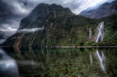 Lady Bowen Had a Great FallMilford Sound, New Zealand