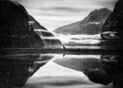 You Are EverywhereMilford Sound, New Zealand  You are the air, the mist, the moments in between. No matter when I look, it is you I see.. Through ages, eons, millennia.