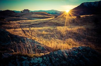 Sunrise at Deer Park Heights