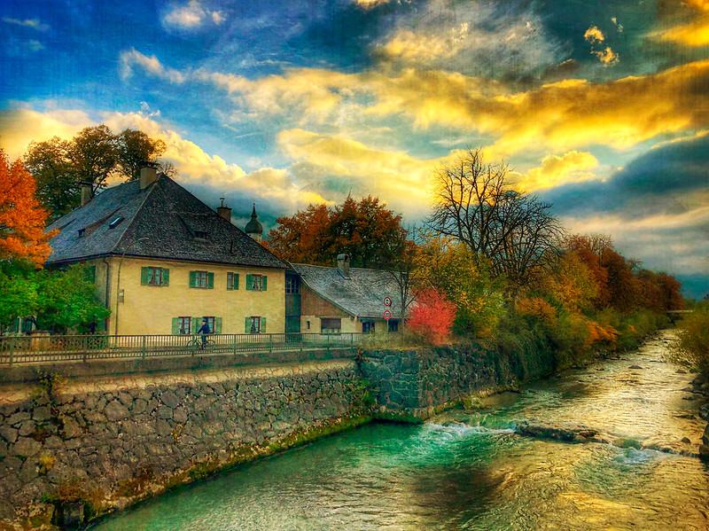 Sunset in Garmisch