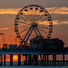 Ferris Wheel Sunrise