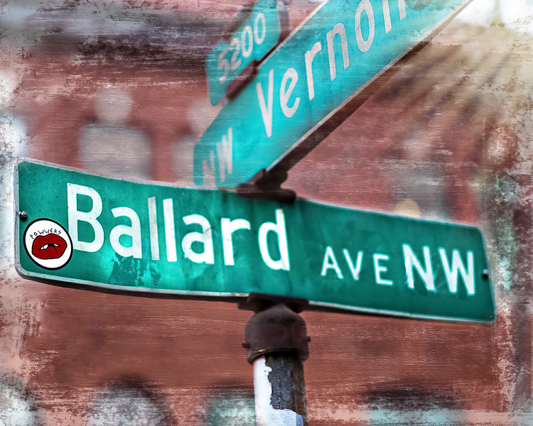 #23015 Ballard Avenue Sign, Seattle