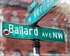 #23015 Ballard Avenue Sign