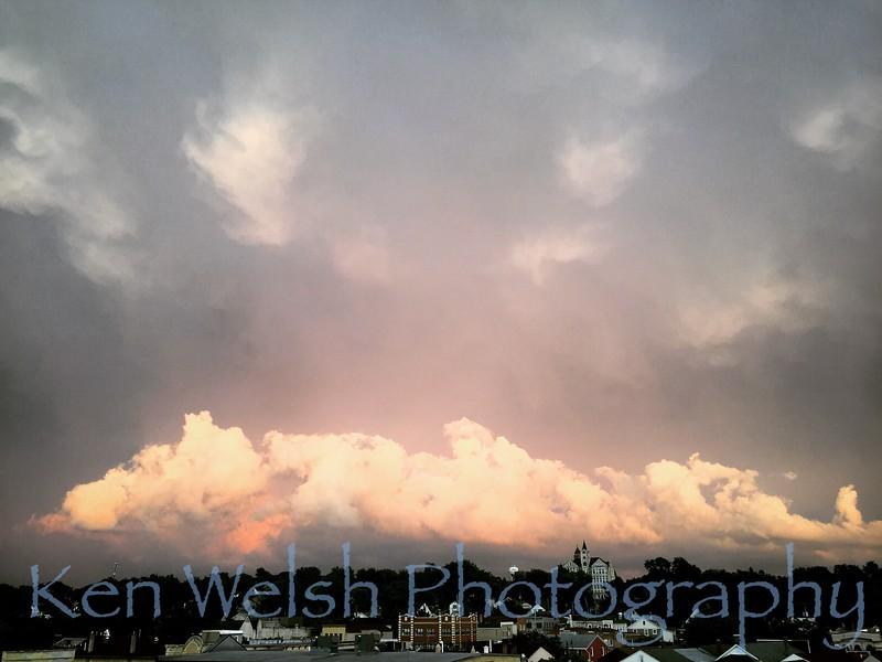 lemont, illinois, clouds, cook county