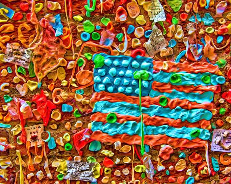 #9926 Gum Wall