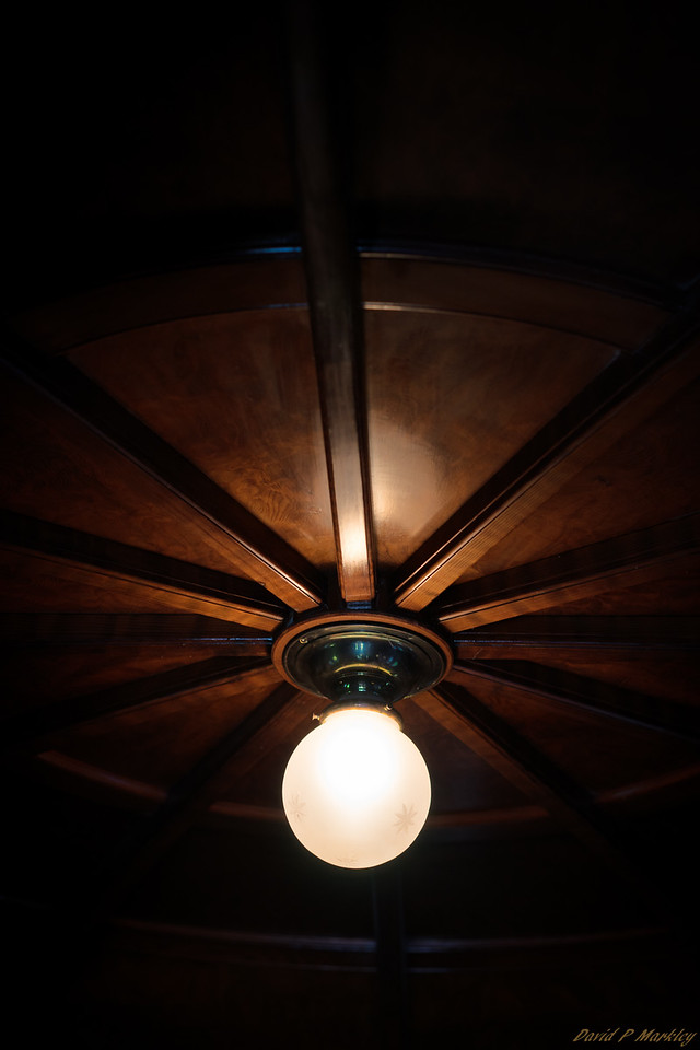 Old Ceiling Light