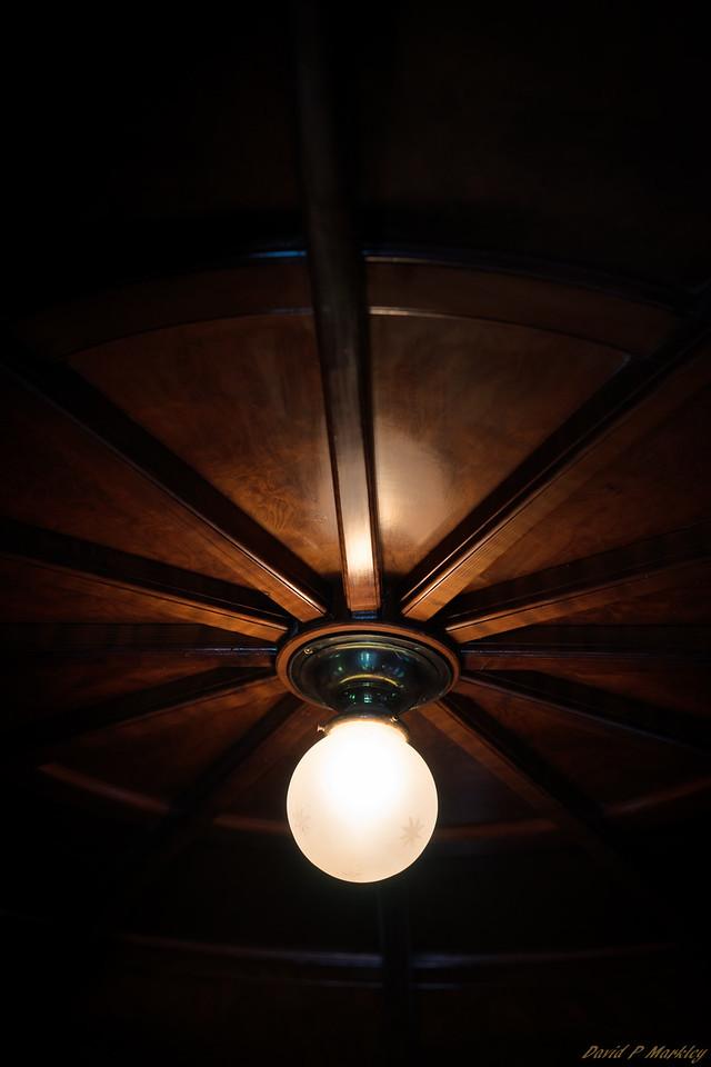 Old Ceiling Light
